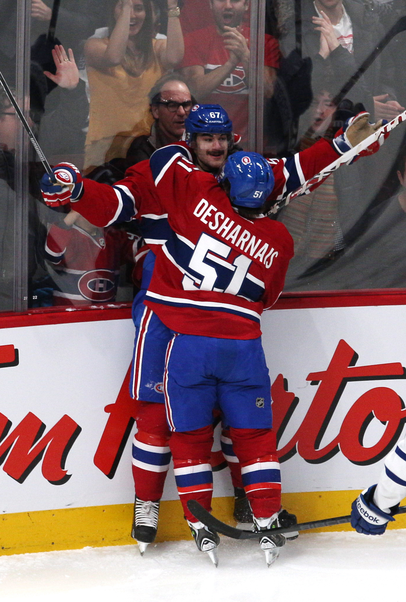 Desharnais and Pacioretty are finally clicking again!