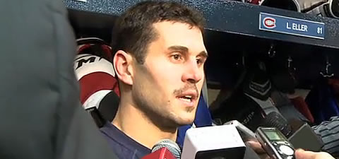 Gionta and his teammates get a lot of media scrutiny in Montreal.